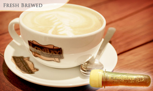 50% OFF Buy 1 Coffee Enzyme FREE 1 Coffee or Drinks + FREE Loyalty Card at Lonbay, The Farm's Best Coffee, Paradigm Mall.