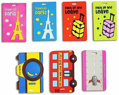 Cartoon Silicone Luggage Tag