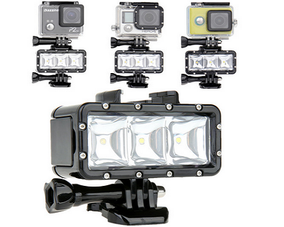 Gopro Underwater Flash Light
