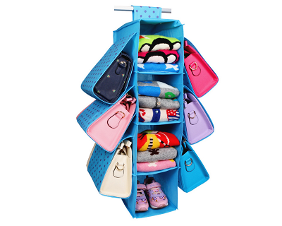 Wardrobe Hanging Holder Rack