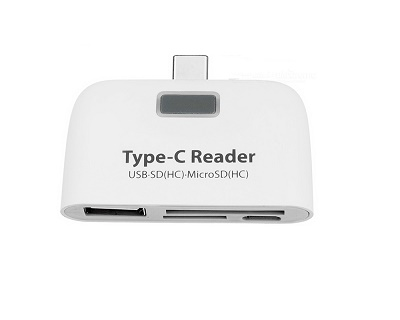 USB C Reader for USB Ports & Memory cards