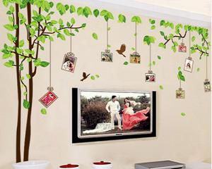 Wall Decal with Photo Frames