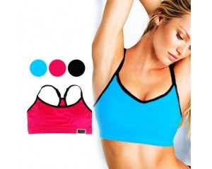 VS Racerback Sports Bra- Pink
