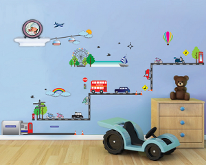 Walplus Kids Learning Wall Stickers