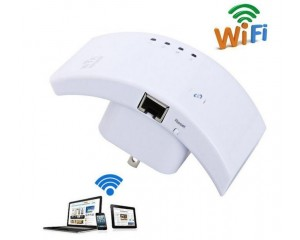 Wireless Wi-Fi Signal-Boosting Repeater