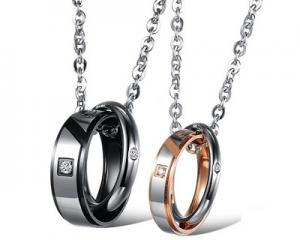 Unique Design Couple Pendants Set-CS0867