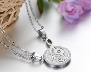 Unique Design Couple Pendants Set-CS0823