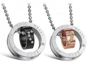 Unique Design Couple Pendants Set-CS0673