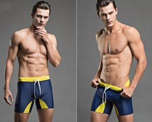 Casual Men Colourful Swimming Shorts