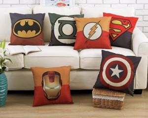 Superhero Memory Foam Cushion