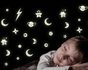 Glow-In-The-Dark Wall Decal