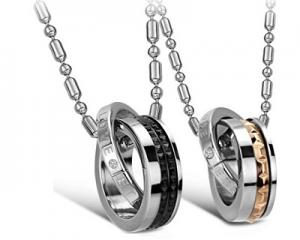 Unique Design Couple Pendants Set-CS0761