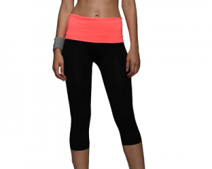YOGA Sport Pants High Waist Cropped leggings