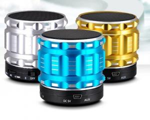 Metal Steel Mini Bluetooth Speakers