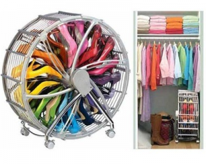 Rotating Shoe Storage Wheel