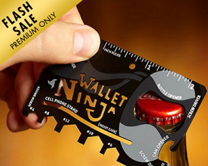 18-in-1 Multi-Purpose Pocket Tool Card