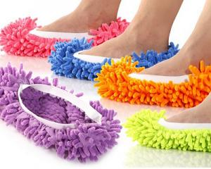 Microfibre Cleaning Mop Slippers