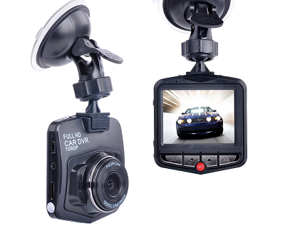 1080P HD Night Vision Dash Cam with LCD Screen