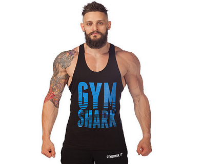 Maillot de gym shark fitness