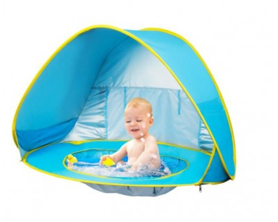 UV Protection Pop Up Beach Tent with Poo