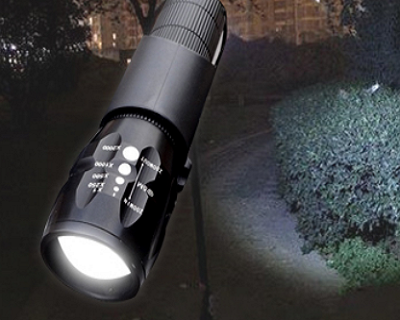 Telescopic Zoom Torch