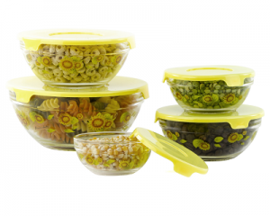 Glass-Bowl Set (5-Piece)