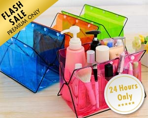 Neon Cosmetic Storage Rack