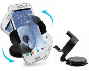360° Rotating In-Car Smartphone Holder