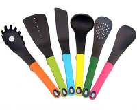 Multi-Coloured Kitchen Utensils Cooking Set - 7pcs