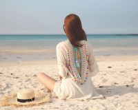 Crochet Backless Beach Dress